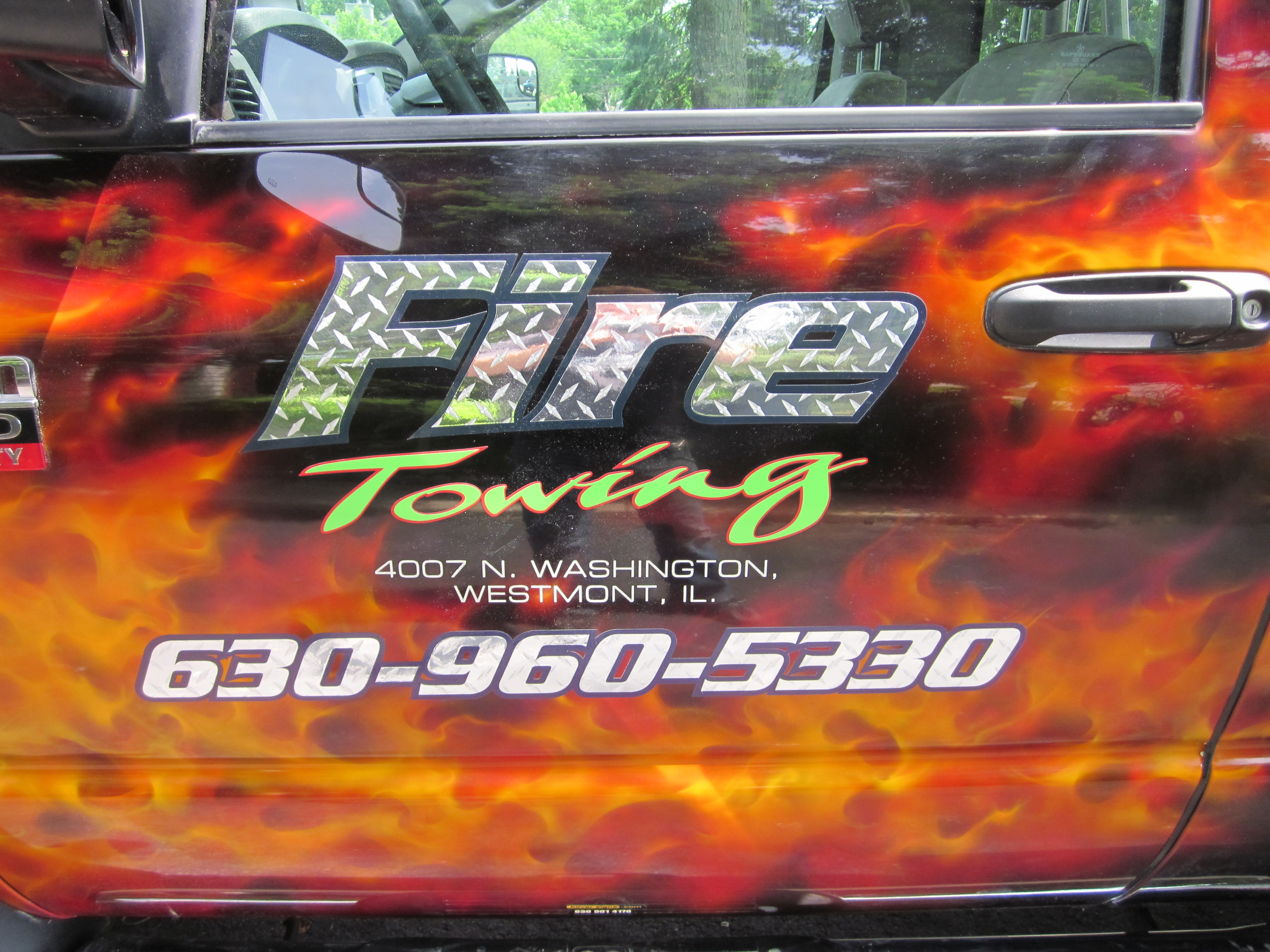 Hinsdale Airbrush designs