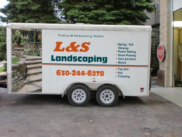Naperville Expert Truck Lettering