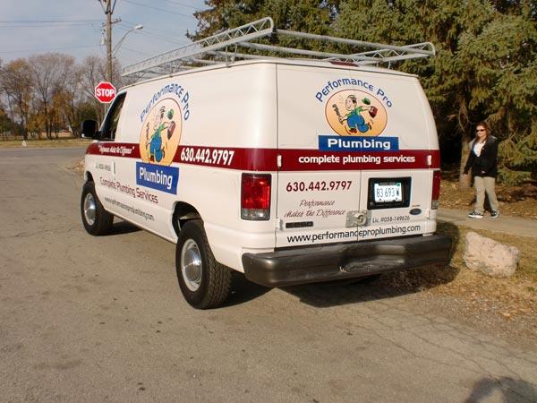 Hinsdale Custom Truck Lettering